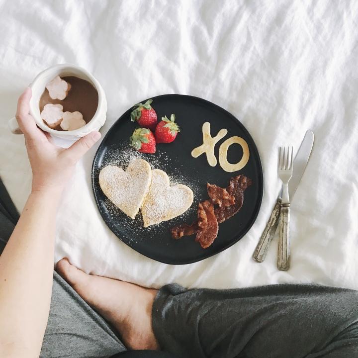 Valentine's Day Breakfast for MyBoys